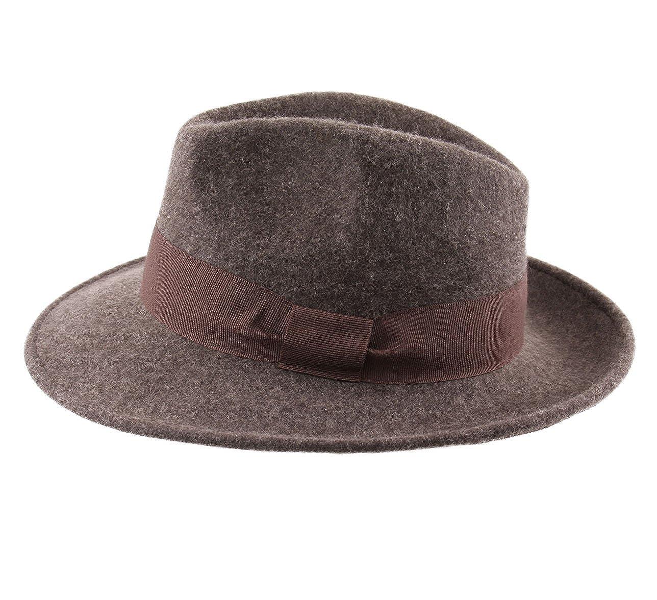 9 Coloris Chapeau Fedora Pliable Feutre Classic Italy Homme ou Femme Fedora