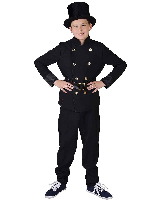 Magic Victorian - Disfraz de policía (128 cm, 7/8 años): Amazon.es ...