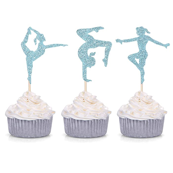 The Best Gymnastic Cake Decor