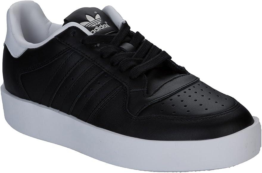 cocinar Asistencia pestaña  adidas - Zapatillas de Piel para Mujer Negro Negro, Color Negro, Talla 39  2/3 EU: adidas Originals: Amazon.es: Zapatos y complementos