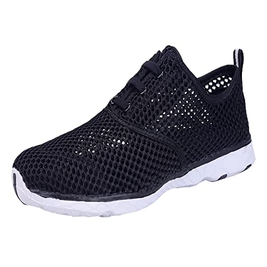 Women's Breathable Mesh Waterproof Slip-On Quick Drying Fashionable Athletic Water Shoes