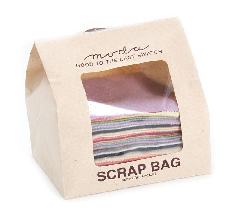 Moda 1/2 Pound Wool Scrap Bag Multi Color Rectangles Moda Classic Moda Fabrics