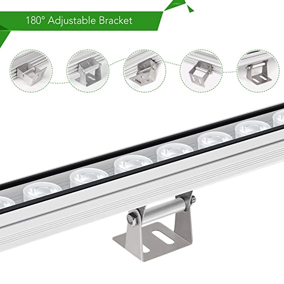 TOPLANET 108W LED Planzenlampe IP65 Waterproof LED Grow Lampe with ...