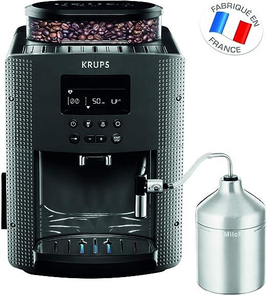 Krups Essential triturador de molino automático, cafetera expresso ...