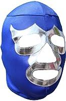 Blue Demon Lycra Lucha Libre Luchador Mask Adult Size