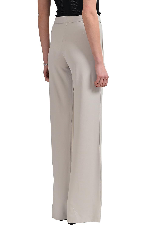 Gianfranco Ferre Ivory Flat Front Women's Casual Pants US 10 IT 46