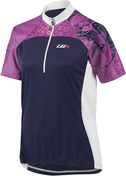 new Louis Garneau Performance Pro jersey women/'s road cycling light micro airdry