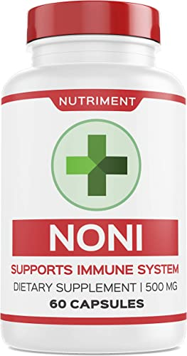 Noni 500mg Superfood Herbal Immune Support 60 Capsules