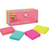 Post-it 653AN Notes, 34.9mm x 47.6mm, Cape Town Collection, 12 Pack