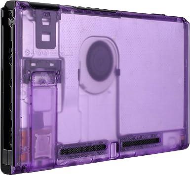 eXtremeRate Carcasa Transparente Violeta para Nintendo Switch ...