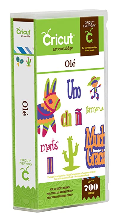 Amazoncom Cricut Ole Cartridge