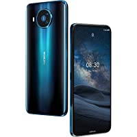 Nokia 8.3 5G Android Unlocked Smartphone with 8/128 GB Memory, Quad Camera, Dual SIM, and 6.81-Inch Screen, Polar Night (T-Mobile/Cricket/Tracfone/Simple Mobile)