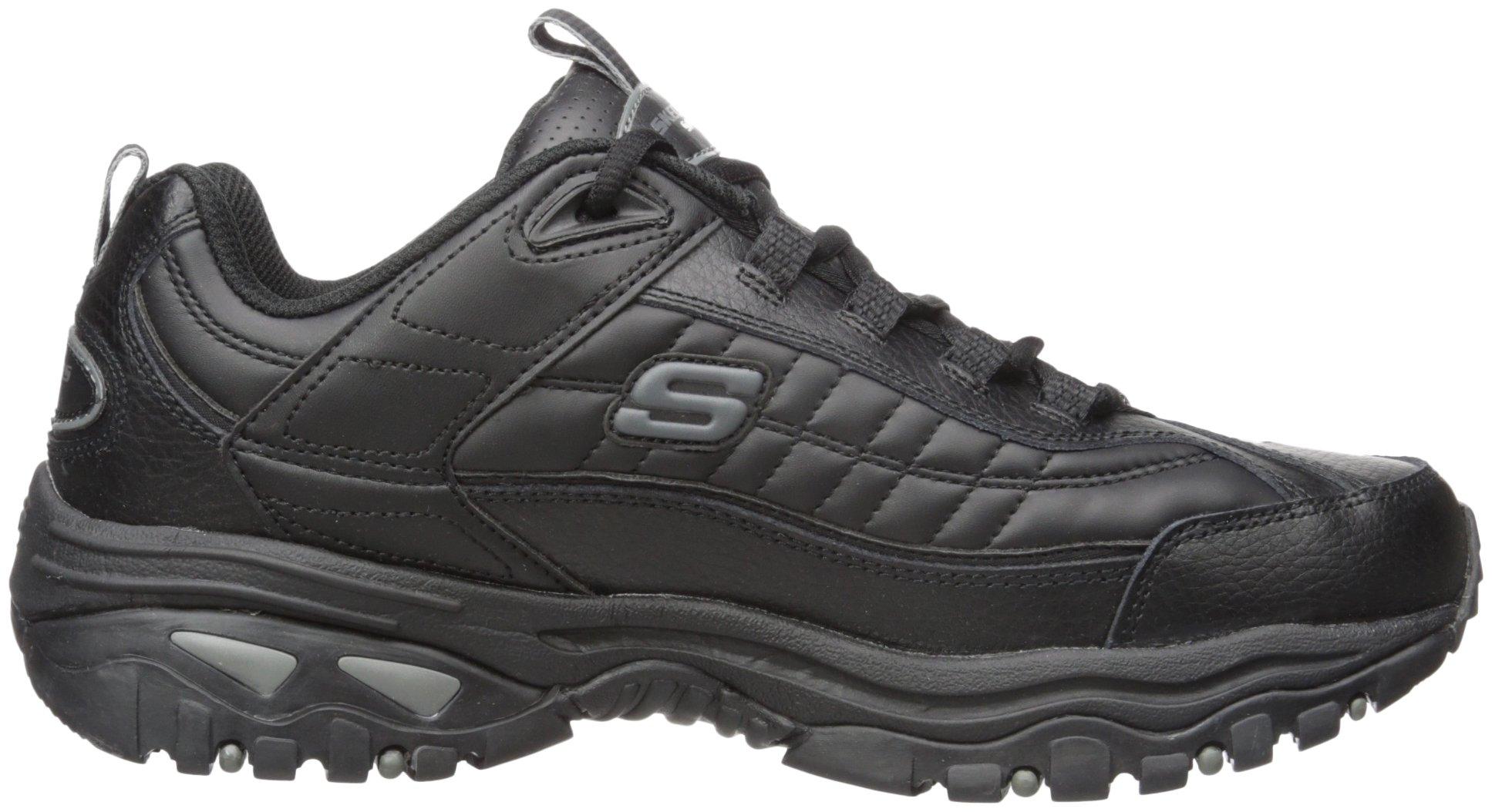Skechers Sport Men's Energy Afterburn Lace-Up Sneaker,Black,13 M by Skechers (Image #7)
