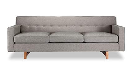 Kardiel KENNEDY3-GOSFORD Kennedy Mid-Century Modern Classic Sofa, 29.6\