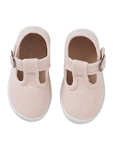 a41f4427 VERTBAUDET Sandalias T-Bar Primeros Pasos, para bebé niña: Amazon.es:  Zapatos y complementos