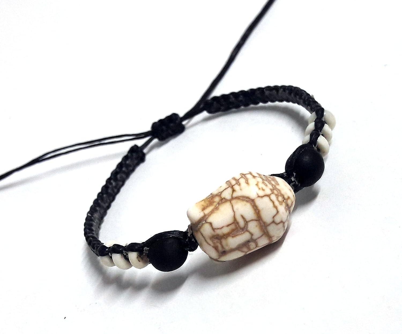 LAVIP Leather Bracelet Buddha Lucky Color Hawaiian Buddha Hemp