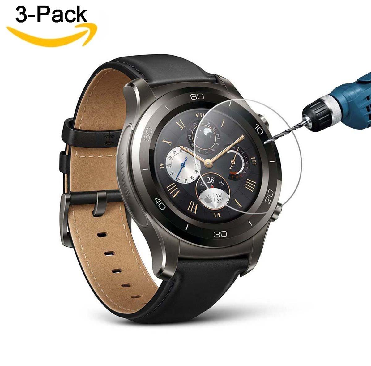 Huawei Watch protector de pantalla paquetes CAVN de vidrio templado protector de