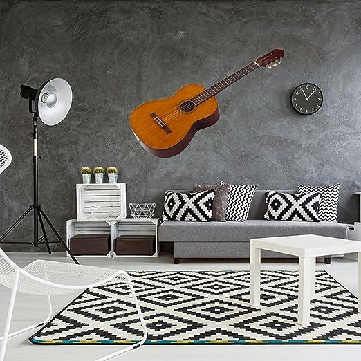Vinilo decorativo pared 3D Música | Guitarra | Guitarra española ...