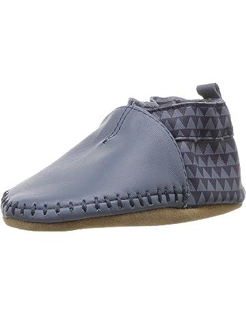 102a63fed026 Robeez Classic Moccasin Crib Shoe (Infant)