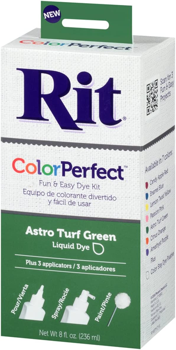 Rit Color Perfect Fabric Dye, Astro Turf Green