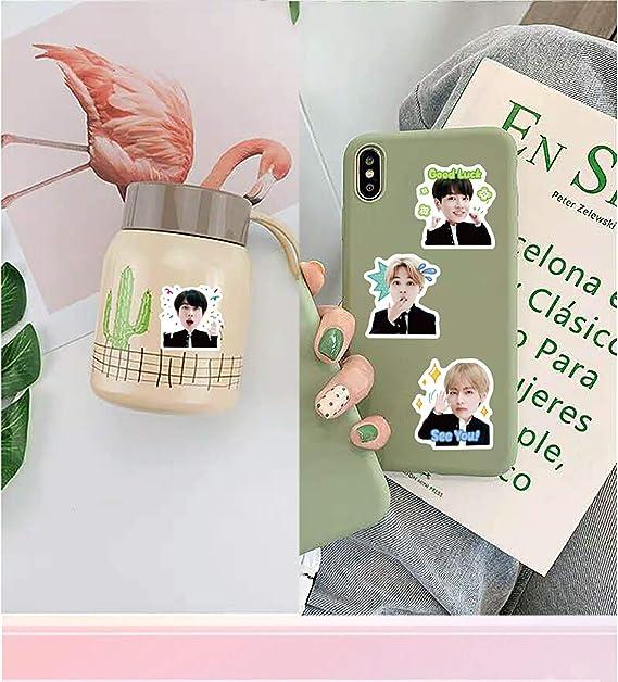 1 Standing Figure 1 Lanyard 54 LOMO Cards 40 Stickers 1 Hand Banner SuperSilk Kpop BTS Blackpink Gifts Set 1 Notebook