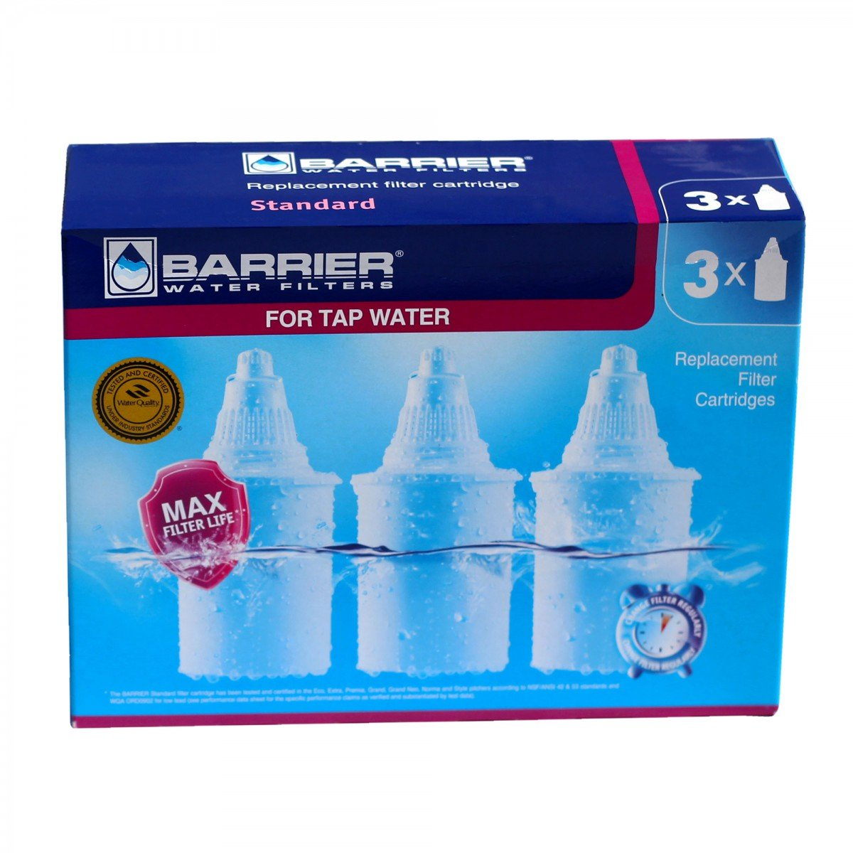 30027 New Wave Enviro Barrier Replacement Filter 3-Pack