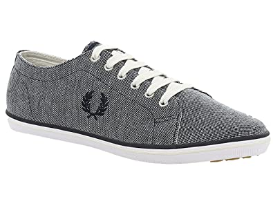 baskets mode fred perry b1195 kingston bleu 44