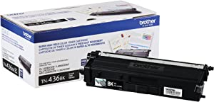 Brother TN436BK Super High Yield Toner-Retail Packaging , Black