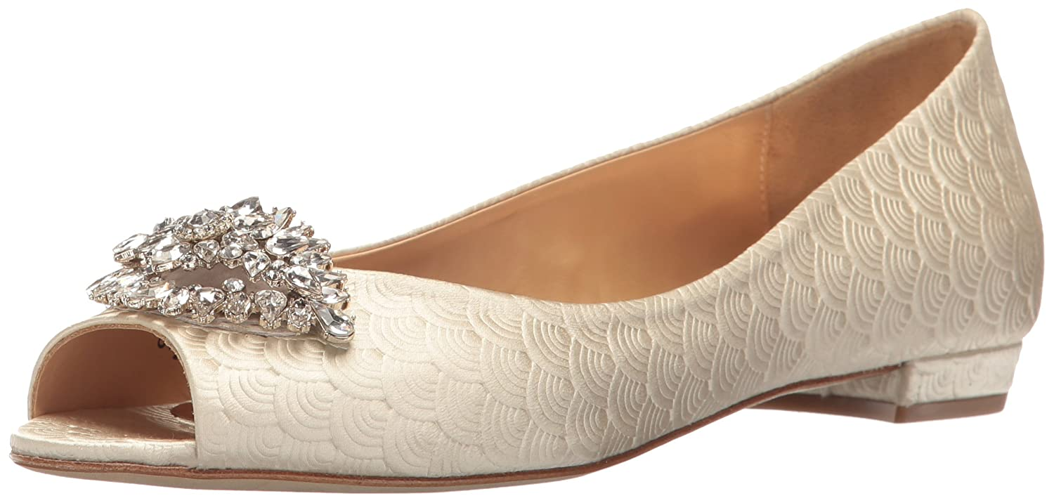 Amazon Badgley Mischka Women s Taft Flat Shoes