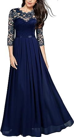 Miusol Robe Femme Soirée Robes Longues de