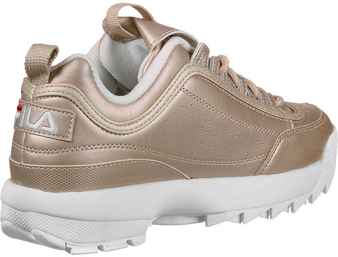 Fila Disruptor M Low W Calzado rose gold: Amazon.es: Zapatos y complementos