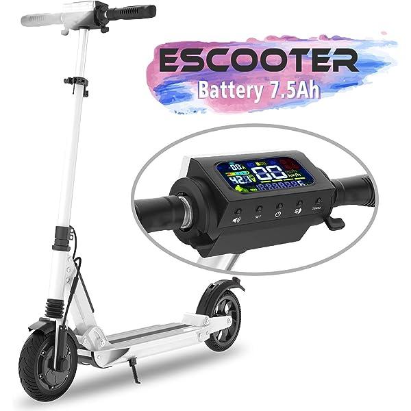 COLORWAY Scooter Patinete Eléctrico Plegable Ruedas de 8 ...