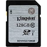Kingston SD10VG2/128GB scheda SD UHS-I SDHC/SDXC classe 10 - 128GB