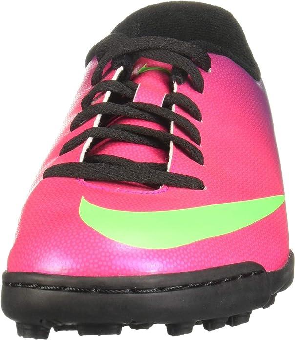 Cierto explique fuga  Tenis Futbol Nike Mercurial Rosa/Negro 24: Amazon.com.mx: Ropa, Zapatos y  Accesorios