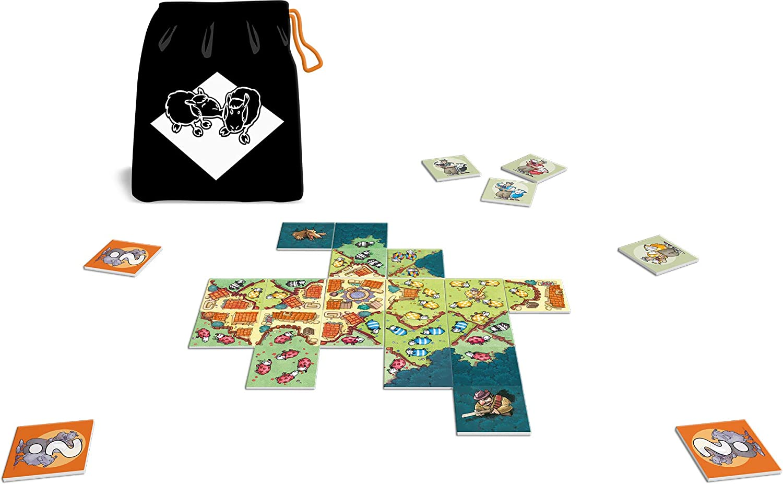 Asmodee-La Guerra de los Ovejas, LMGM01FR, Juegos Familiares: Amazon.es: Juguetes y juegos