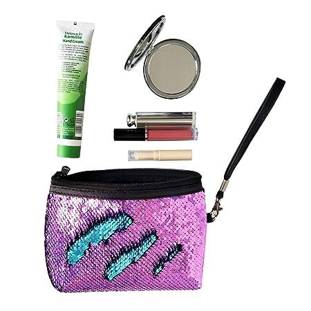Amazon.com: Estuche organizador de maquillaje con ...