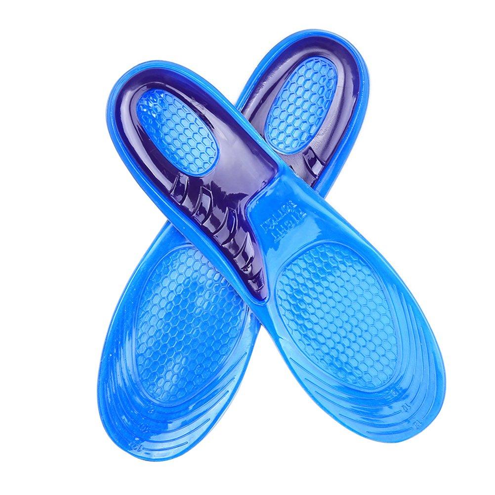 healifty Semelles en silicone pour silicone semelles pour chaussures de course running m pour roulements 1 pair (40 –  42)