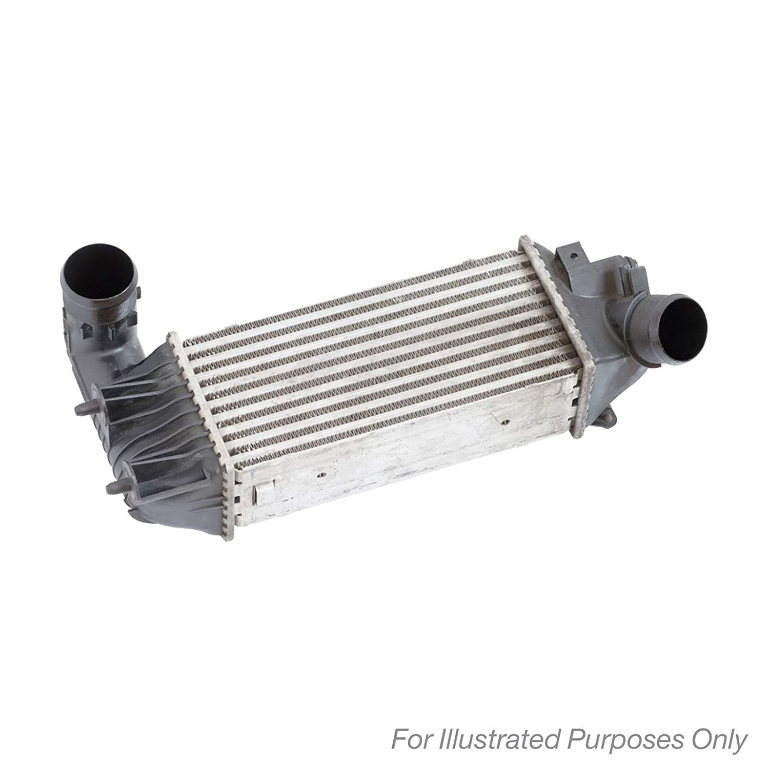 Nissens 96766 - Intercooler