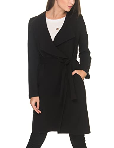 La Dolls Women's Women's Black City Coat