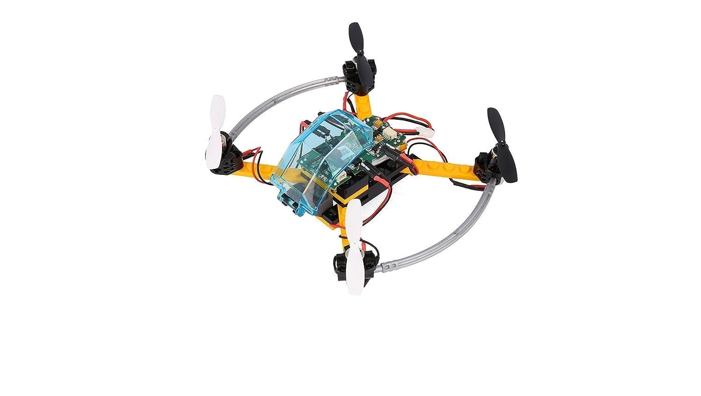 FLY-GO ARF dron Negro Naranja con Control Remoto komplettkit ...