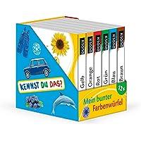 Kennst du das? Mein bunter Farbenwürfel: ab 12 Monaten: 6 Mini-Bücher (Würfel)