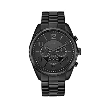 ac3d60302 Image Unavailable. Image not available for. Color: Caravelle Men's Quartz  Stainless Steel Watch ...