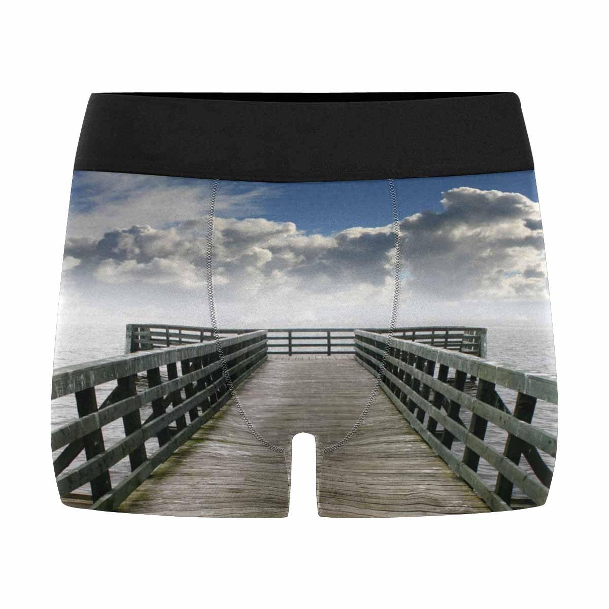 XS-3XL INTERESTPRINT Boxer Briefs Mens Underwear Bridge