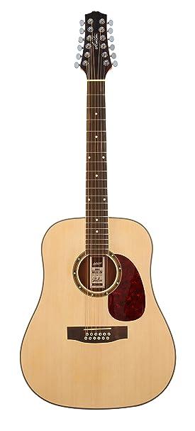 Ashton D25/12NTM - Guitarra clásica (combinación, picea, 12 cuerdas, para
