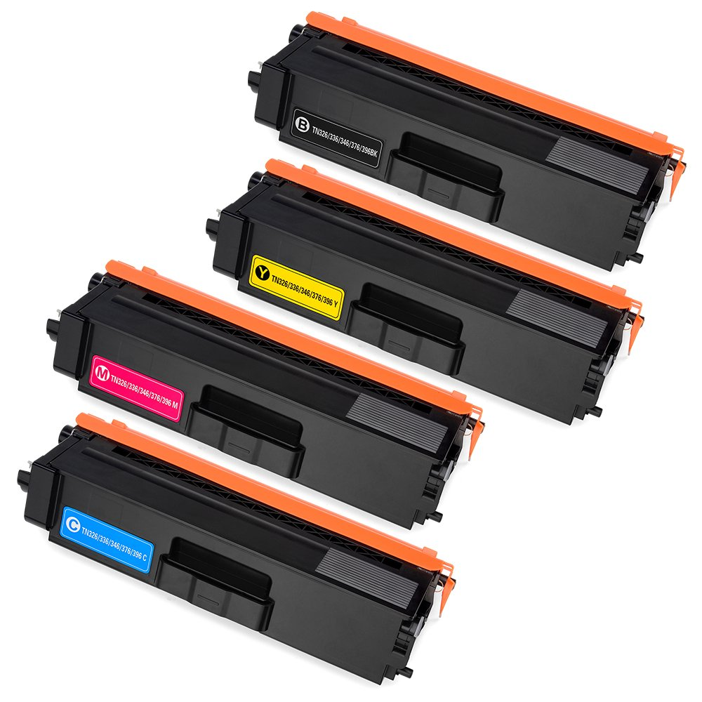 Office World 5 Pack Compatible Toner Cartridge Replacement for Brother TN 336 TN-336 TN331, Compatible with Brother MFC-L8850CDW MFC-L8600CDW HL-L8250CDN HL-L8350CDW HL-L8350CDWT