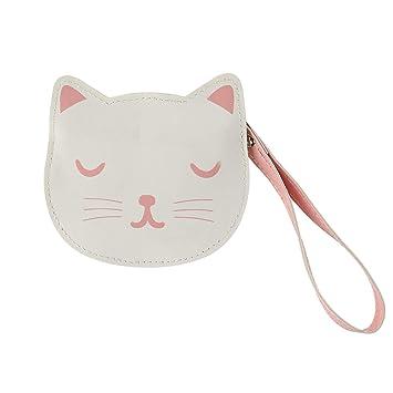 Monedero con cremallera para gatos Sass and Belle Cutie: Amazon.es: Oficina y papelería