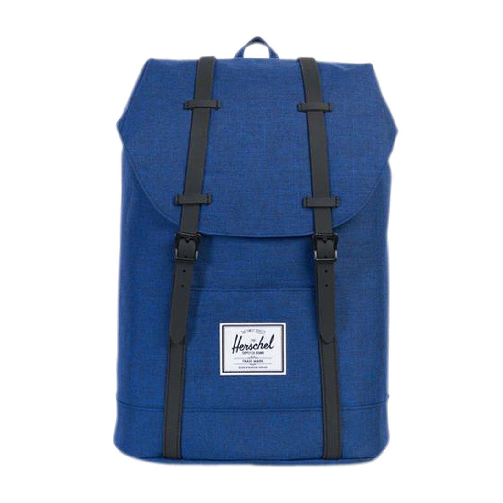 Herschel Retreat Backpack, Eclipse Crosshatch/Black Rubber