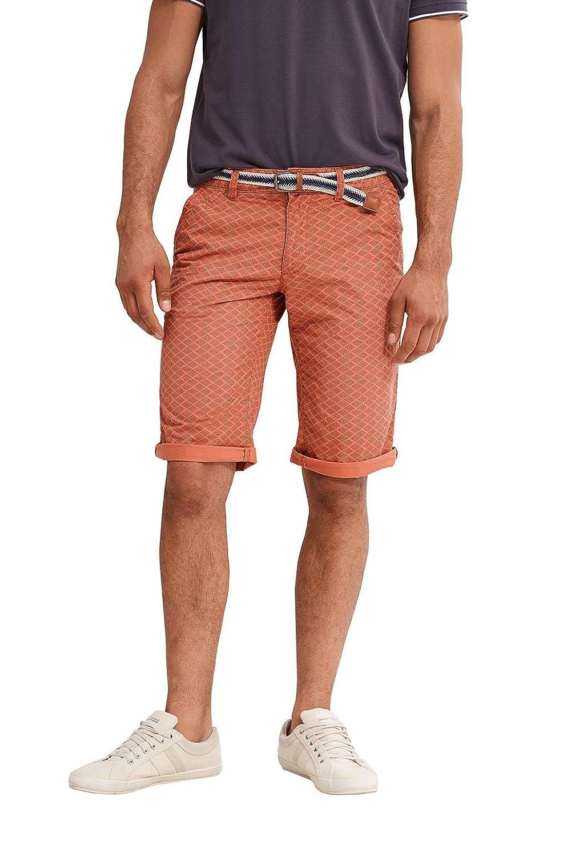 047cc2c009, Pantalones Cortos para Hombre, Naranja (Terracotta), 44 (Talla del Fabricante: 28) EDC by Esprit