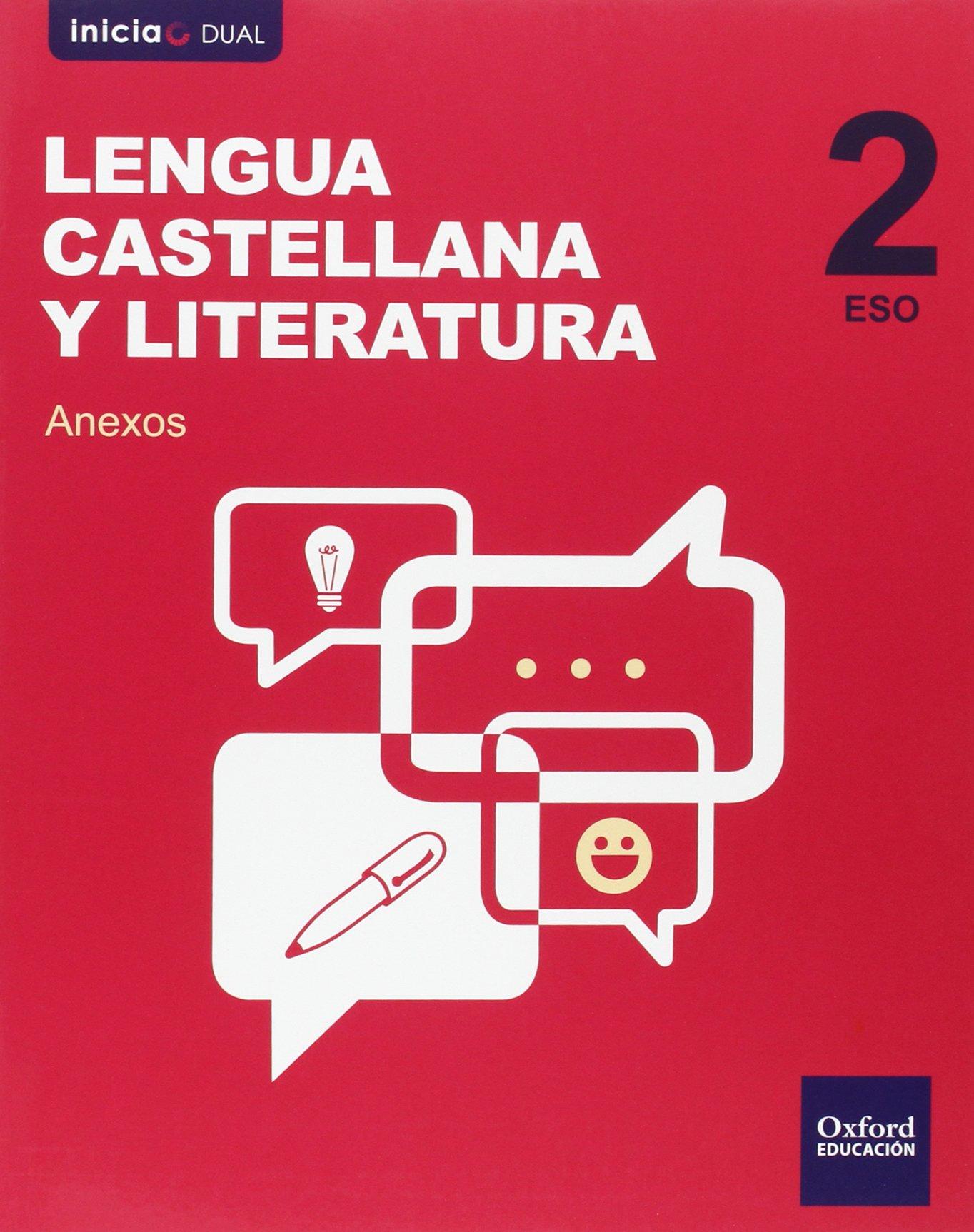 Pack Inicia Dual Lengua Castellana Y Literatura. Volúmenes Trimestrales.  Libro Del Alumno - 2º ESO - 9780190502829: Amazon.es: José Manuel González  Bernal, ...