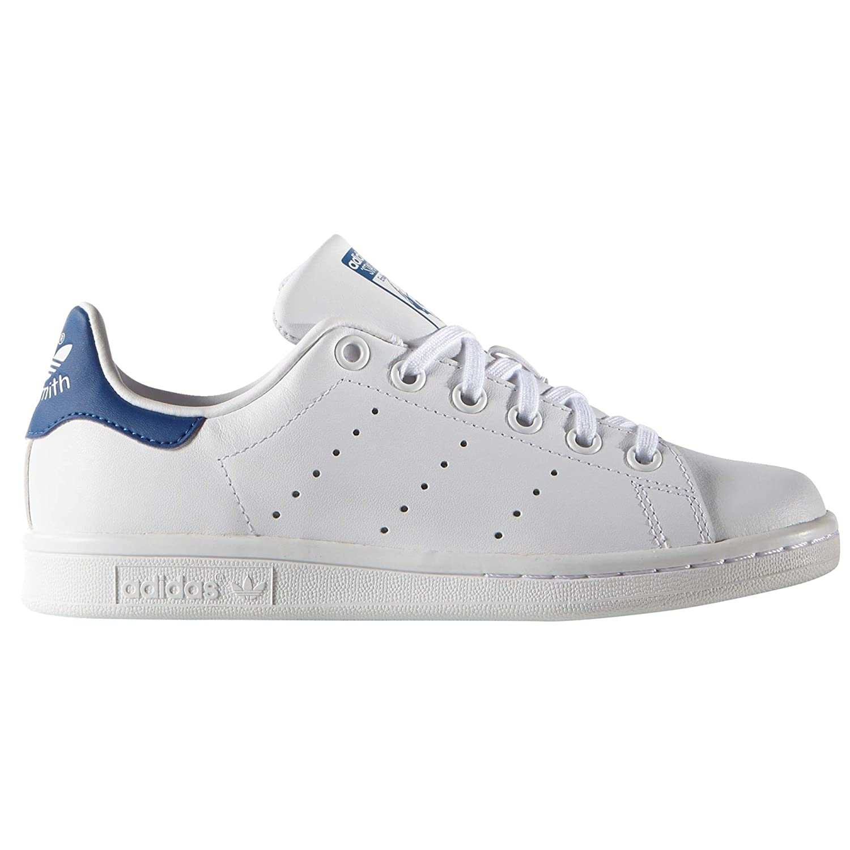Hausschuhe Adidas Weißas para damen. Stan Smith Turnschuhe, Tenis Weiß Weiß Eqt Blau